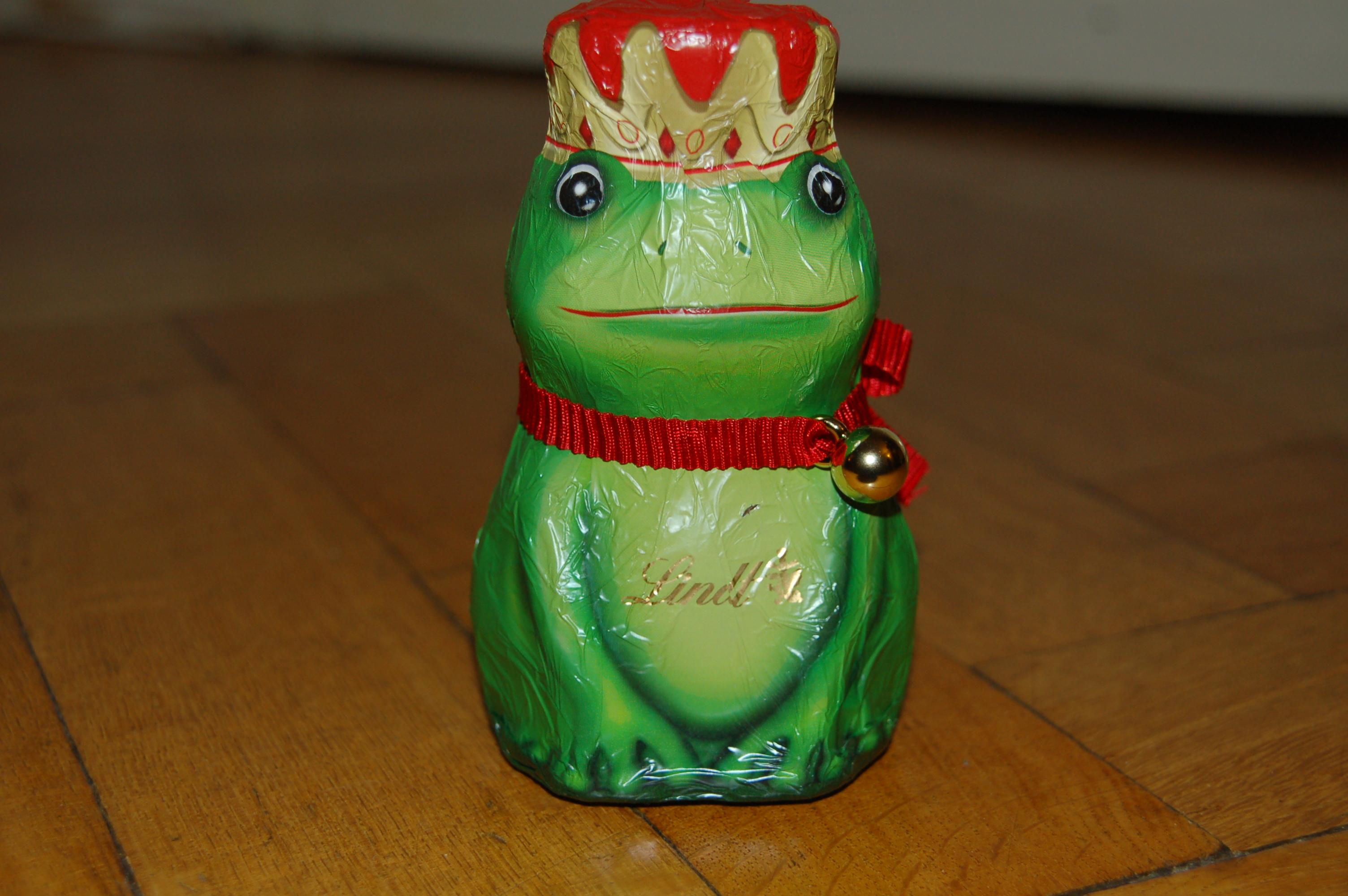 Frosch aus Schokolade von Lindt: Eine Biosünde?