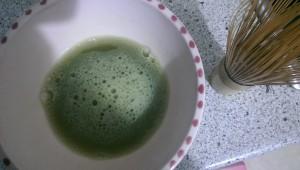 Matcha Tee zubereiten siebter Schritt