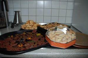 Während ich Pralinen machte, wurden daheim Plätzchen gebacken. P und P!