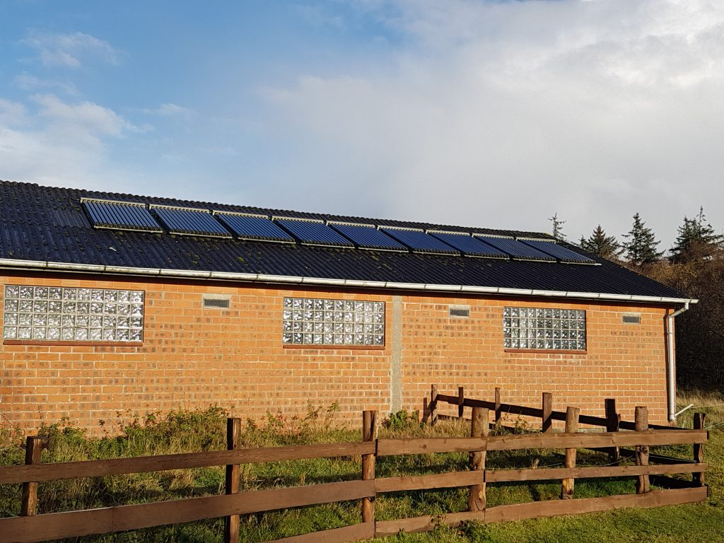 Solarthermie auf dem Bio-Bauernhof Hockmannshof