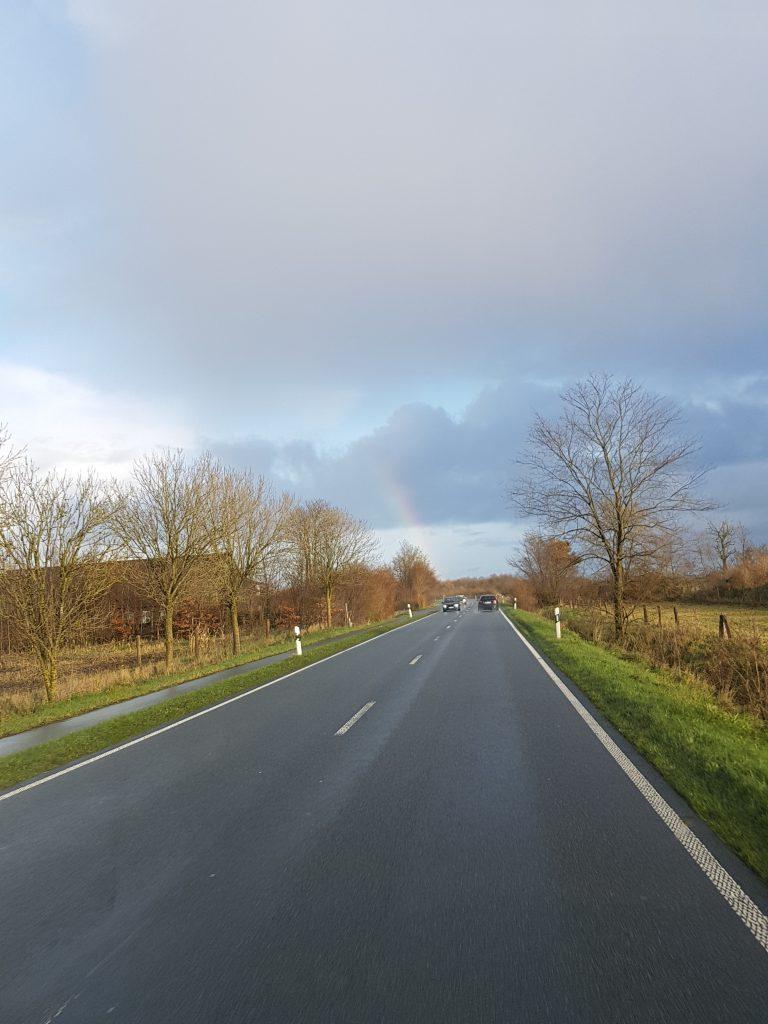 Fahrt in den Regenbogen - Bio-Bauernhof Hockmannshof